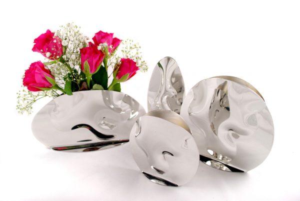 pewter vases