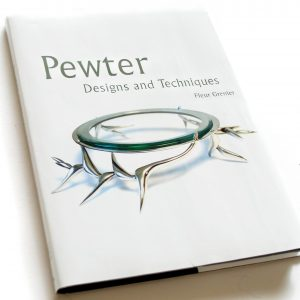 pewter design and techniques book by fleur grenier